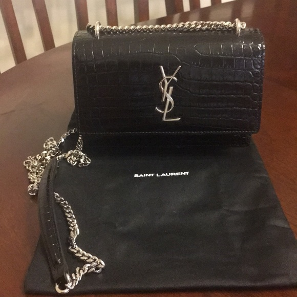 570c95f6cb YSL sunset chain wallet NWT